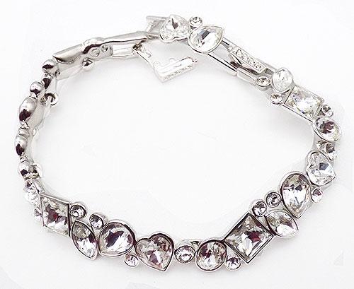 Bridal, Wedding, Special Occasion - Swarovski Crystal Shapes Bracelet
