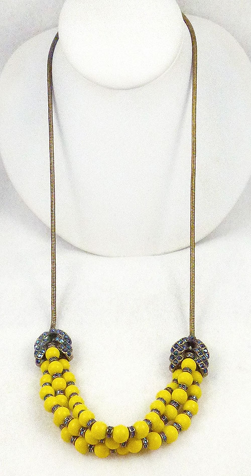 Newly Added Giles & Brother Long Garland Necklace