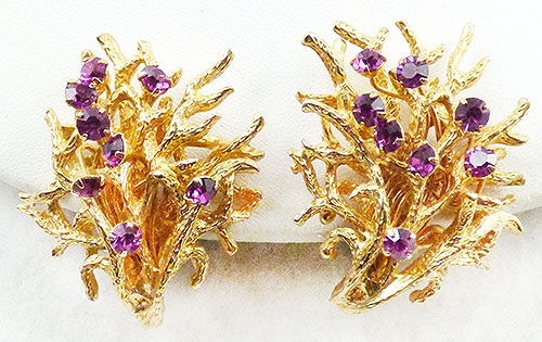 Newly Added Castlecliff Gold Branches Earrings