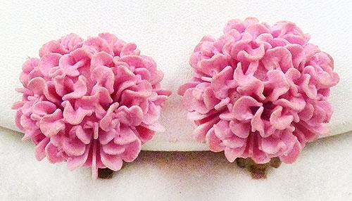 Spring Pastel Jewelry - Pink Featherlite Earrings