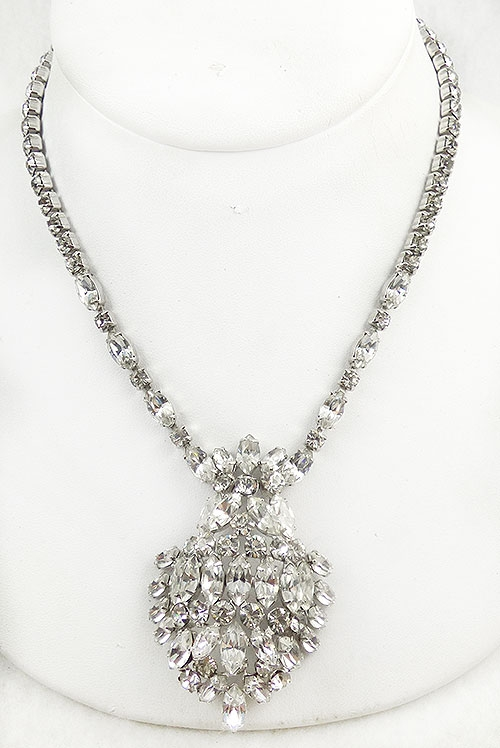 Newly Added Kramer Crystal Rhinestone Necklace