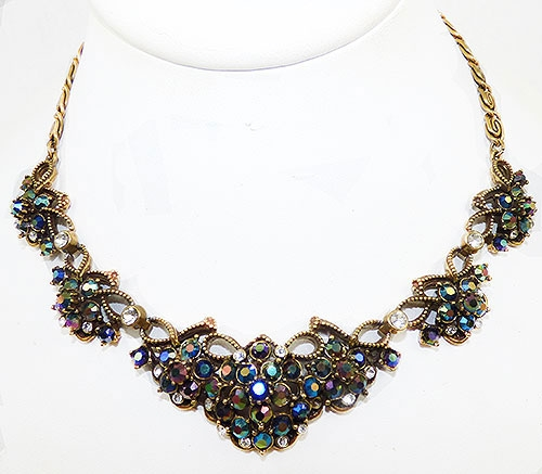 Florenza - Florenza Blue and Amethyst Aurora Necklace