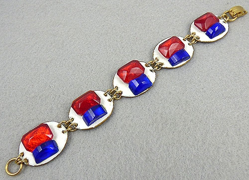 Patriotic Jewelry - Ruth Buol Patriotic Bracelet