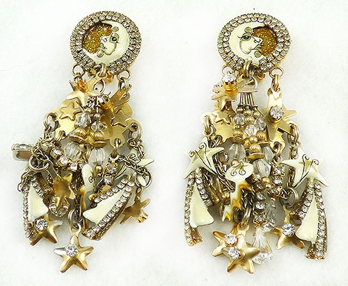 Trend: Spring Summer 2019 Earrings - Lunch at the Ritz Moon Beam Earrings