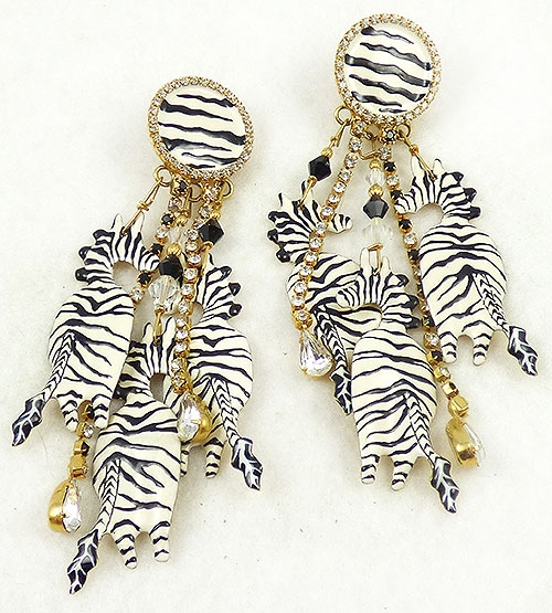 Newly Added Lunch at the Ritz Born To Be Wild Earrings