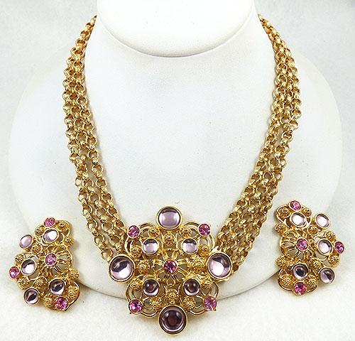 Newly Added Jose Barrera for Avon Marbella Necklace Set