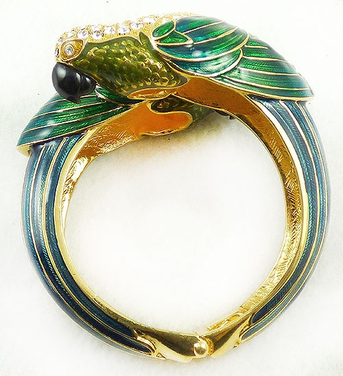 Newly Added Nolan Miller Parrot Clamper Bracelet