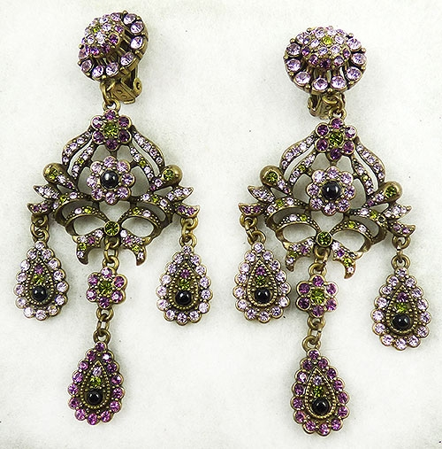Newly Added Ultimate Trading Corp UTC Chandelier Earrings