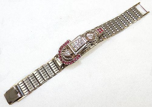 Newly Added Clarion Flexible Link Rhinestone Bracelet