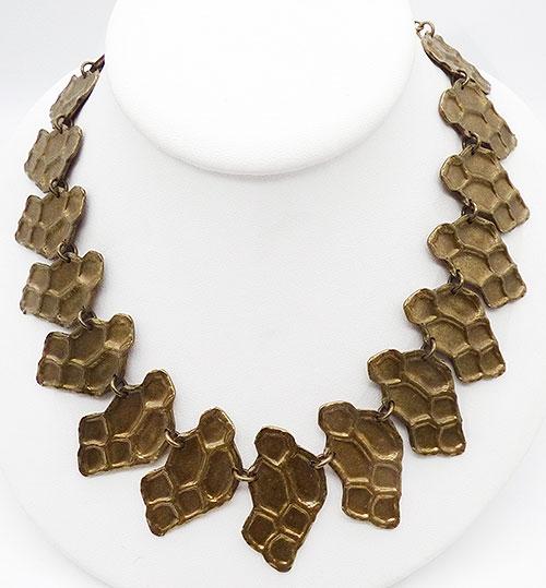 Newly Added YSL brass snake necklace