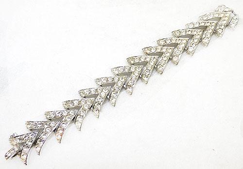 Coventry, Sarah - Sarah Coventry Rhinestone Bracelet