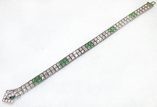 Newly Added Diamondbar Sterling Rhinestone Buckle Bracelet