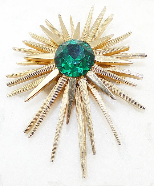 Newly Added Capri Starburst Brooch