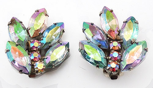 Newly Added Pastel Aurora Rhinestone Earrings