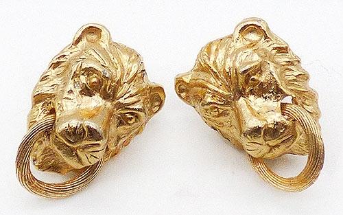 Newly Added Mimi Di N Lion Door Knocker Earrings