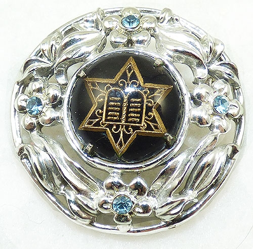 Brooches - Essex Gass Star of David Silver Brooch