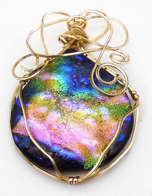 Newly Added Artisan Dicgroic Glass Pendant