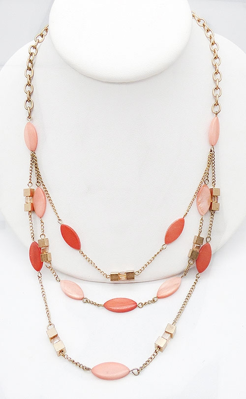 Newly Added Kenneth Cole Tiered Chains Necklace