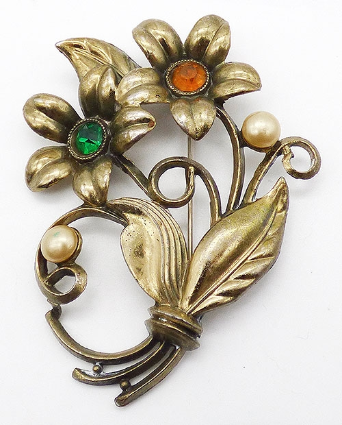 Florals - Little Nemo Flowers Brooch