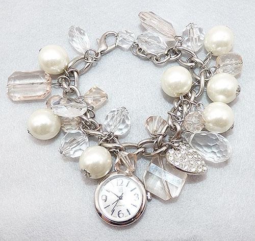 Bracelets - NY&C New York Co Crystal Charm Bracelet